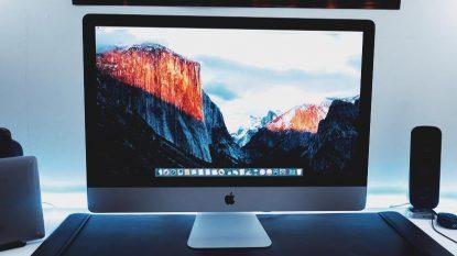 Apple Desktop iMac Retina 5K 27 Inch 2015 MK462 Silver