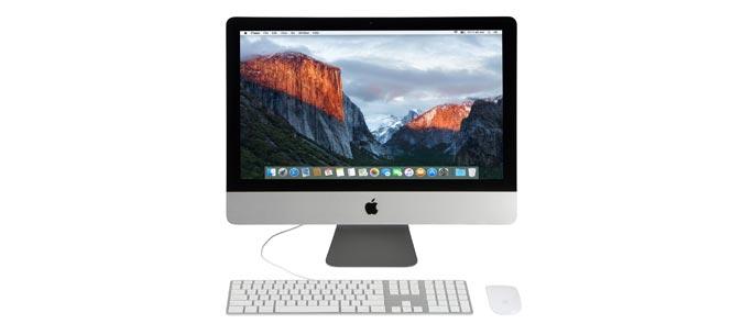 Harga Jual iMac 16.2 Core i5 21.5 Inch 2015 MK422 Second