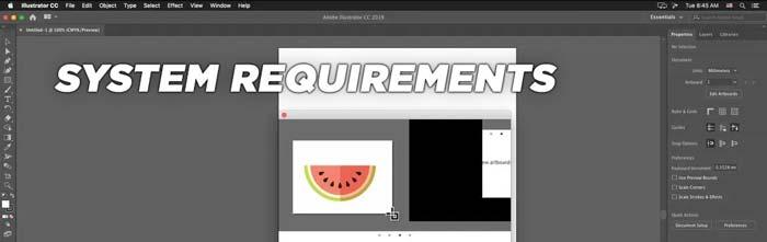 Adobe Illustrator Mac system requirements