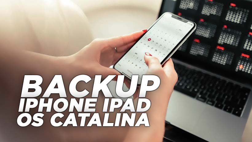 Cara backup iphone ipad macOS Catalina finder