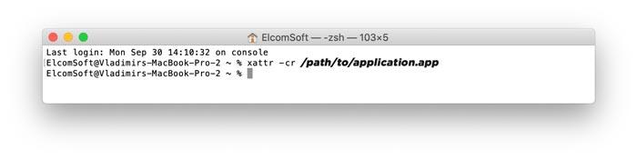 Cara memperbaiki app damaged can't be opened dengan xattr