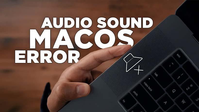 Cara memperbaiki audio sound tidak berfungsi di macOS