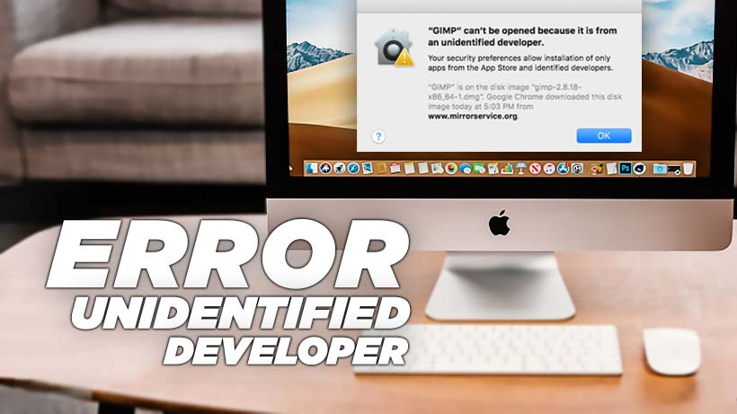 Cara memperbaiki error unidentified developer macOS