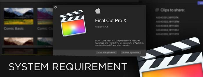 Final Cut Pro System Requirements Review