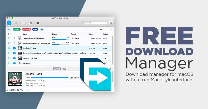 Free Download Manager MacOS full review support Catalina terbaru