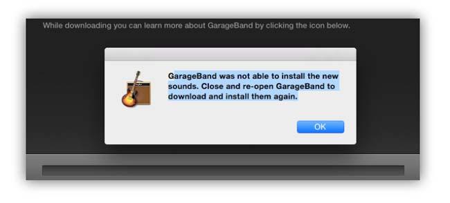 Memperbaiki audio error MacOS Yosemite dan Garage Band