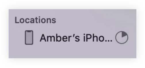 Proses membuat cadangan backup iPhone