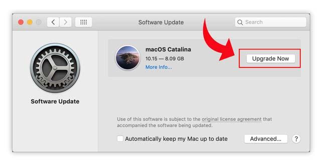 Reinstall atau update macOS untuk memperbaiki audio error