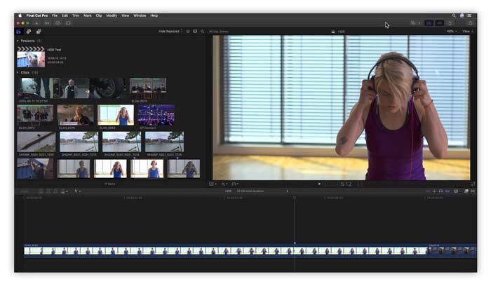 Software Final Cut Pro X macOS terbaru