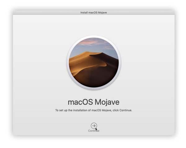 Tutorial install ulang macOS dengan internet recovery mojave