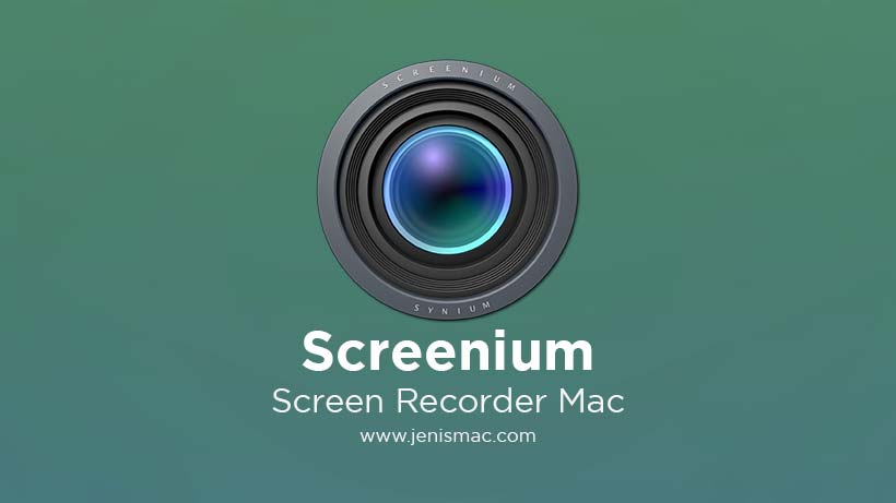 Review aplikasi Screenium Screen Recorder Mac download gratis