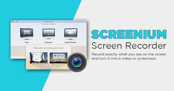 Screenium Screen Recorder Mac full review support catalina terbaru