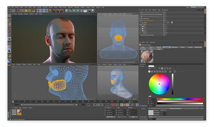Software Cinema 4D MacOS terbaru